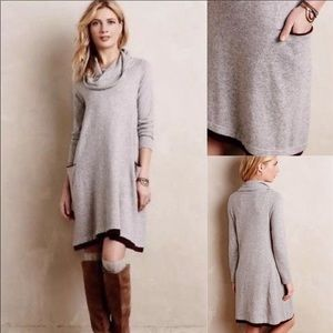 😍😍Anthropologie cashmere blend sweater dress